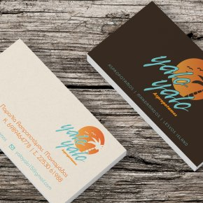 Yalo Yalo Business Cards