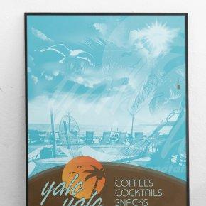 Yalo Yalo Poster A3
